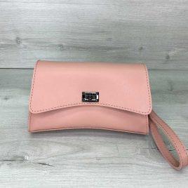 Розовая сумка на пояс Пэт