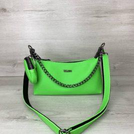 Женская зеленая сумка Лойс