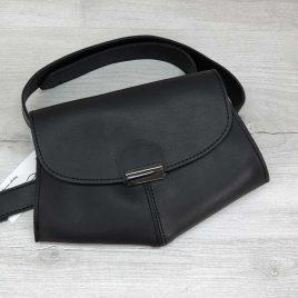 Сумочка на пояс-клатч Demi черная